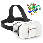 Molecular viewer with VR (Virtual Reality)